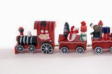 Free Xmas Train Royalty Free Stock Photo - 3655635