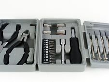 Free Mini Tool Kit 1 Royalty Free Stock Images - 3655689