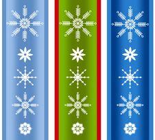 Free Various Xmas Snowflake Borders Royalty Free Stock Images - 3655839