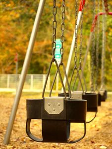 Free Swings Royalty Free Stock Photo - 3656315