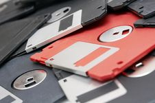 Free Floppy Discs Royalty Free Stock Photo - 3656505