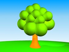 Free Green Tree Royalty Free Stock Photography - 3656817