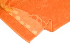 Free Orange Towel Royalty Free Stock Images - 3656849