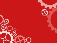 Free Cogwheel Technical Wallpaper Red Stock Photo - 3657230
