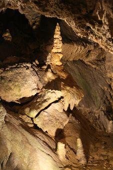 Belianska Cave (Slovakia) Royalty Free Stock Images