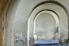Monastic Arches Royalty Free Stock Photography