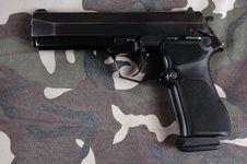 Free Pistol. Stock Photo - 3657490