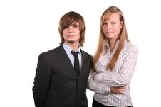 Free Young Office Team Stock Photography - 3658712