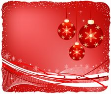Free Christmas Background Vector Stock Image - 3658931