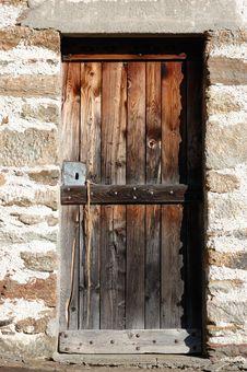 Free Wooden Door Royalty Free Stock Photos - 3659308