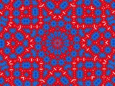 Free Pattern Blue Red Stock Image - 3659321