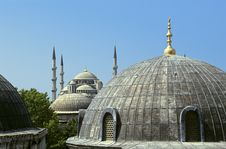 Free Blue Mosque Royalty Free Stock Photos - 3659328