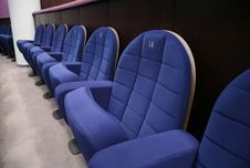 Free Theatre Chairs Stock Photo - 3659470