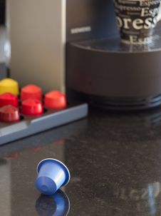 Free Europe S New Flavor NEspresso Stock Image - 3659611