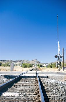 Free Railroad Tracks Stock Photography - 3659672