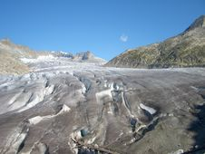 Alps Glacier In Austria Royalty Free Stock Photography