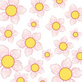 Free Beautiful Background With Cherry Blossom Pattern Royalty Free Stock Photography - 36501927