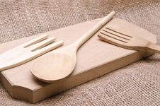 Kitchen Wooden Tools Royalty Free Stock Image