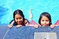 Free Smiling Girls Royalty Free Stock Image - 36518336