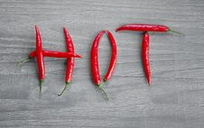 Free Hot Chili Pepper Royalty Free Stock Image - 36512006