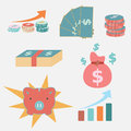 Free Simple Icon For Economic And Business Royalty Free Stock Photos - 36522668