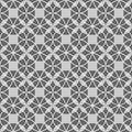 Free Black And White Seamless Geometric Pattern Royalty Free Stock Image - 36524126