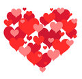 Free St Valentines Heart Shape Design Royalty Free Stock Photos - 36528068