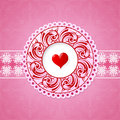 Free St Valentine Greeting Card Design Stock Photo - 36528080