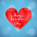 Free St Valentine Greeting Card Design With Heart Shape Stock Photos - 36528083