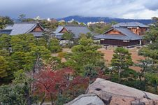 Free Traditional Japanese Buildings Stock Image - 36520061