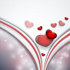 Free Valentine S Day Vector Background Stock Images - 36524044