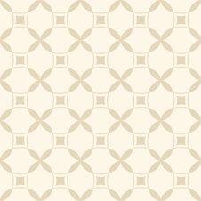 Free Beige Seamless Geometric Pattern Royalty Free Stock Photography - 36524077