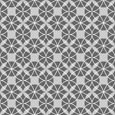 Free Black And White Seamless Geometric Pattern Royalty Free Stock Image - 36524126