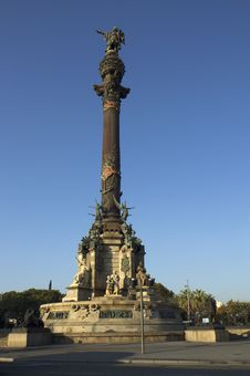 Free Barcelona. Columbus Monument. Royalty Free Stock Image - 36528366