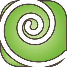 Free Green Swirl Royalty Free Stock Photos - 36530098