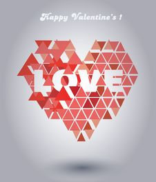 Free Valentines Heart Royalty Free Stock Photos - 36532808