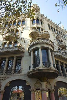 Free Barcelona. House Of Leo Morera. Stock Photos - 36533913