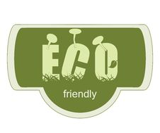 Free ECO Friendly Label Stock Photography - 36536602