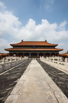 Free The Forbidden City Royalty Free Stock Images - 36536879