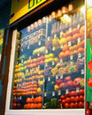 Free Show-window Of A Vegetable Stall Royalty Free Stock Photography - 36542317