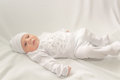 Free Baby In White A Cap Royalty Free Stock Photo - 36546625
