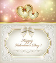 Free Postcard For Valentines Day Royalty Free Stock Image - 36548566