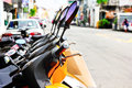 Free Motorcycles Rental Royalty Free Stock Photography - 36549607