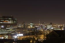 Free Montreal In Night Lights Royalty Free Stock Images - 36542029