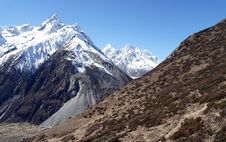 Free The Mountains Of Nepal, High, Beautifully Stock Images - 36542094