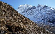 Free The Rugged Beauty Of The Himalayas At An Altitude Of 4000 M Stock Images - 36542144