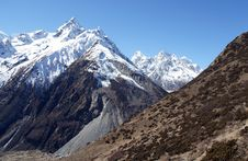 Free High Mountains Of Nepal Stock Images - 36542224