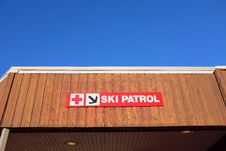 Free Ski Patrol Station Royalty Free Stock Photos - 36542678