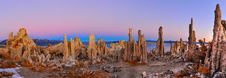 Free Mono Lake Tufa Formations At Sunrise Royalty Free Stock Photos - 36544308