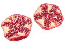 Free Pomegranate Cross Section Stock Photos - 36547413